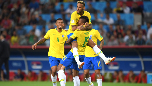 Neymar helps Brazil beat Mexico and reach World Cup 2018 quarters