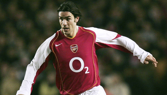 Robert Pires was one of the stars for Arsenal during their unbeaten season.