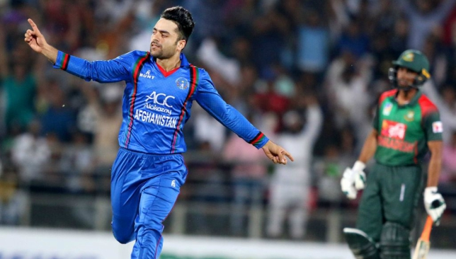 A key role: Rashid Khan