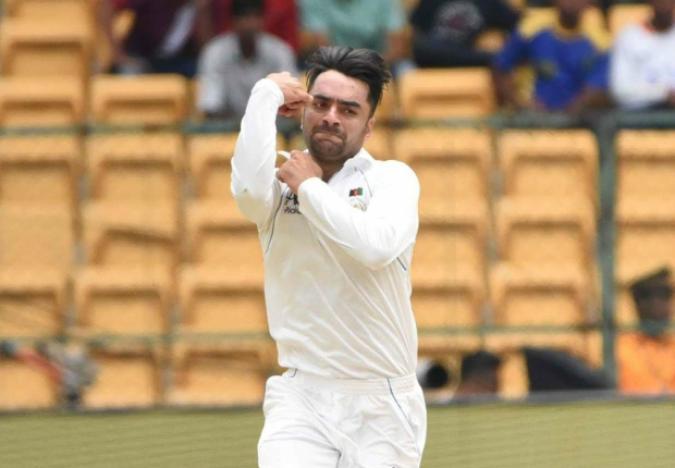 Rashid Khan bowled too many googlies at the start. Image - ACB/Twitter