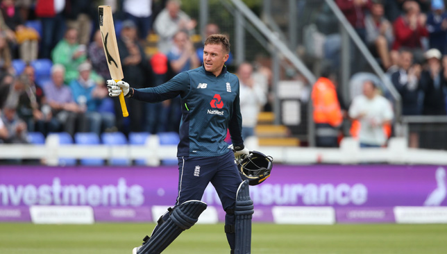 Century hero: Jason Roy