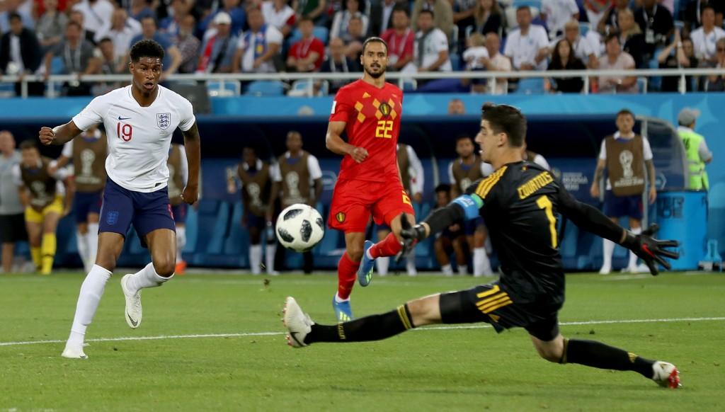 Marcus Rashford missed England's best chance.