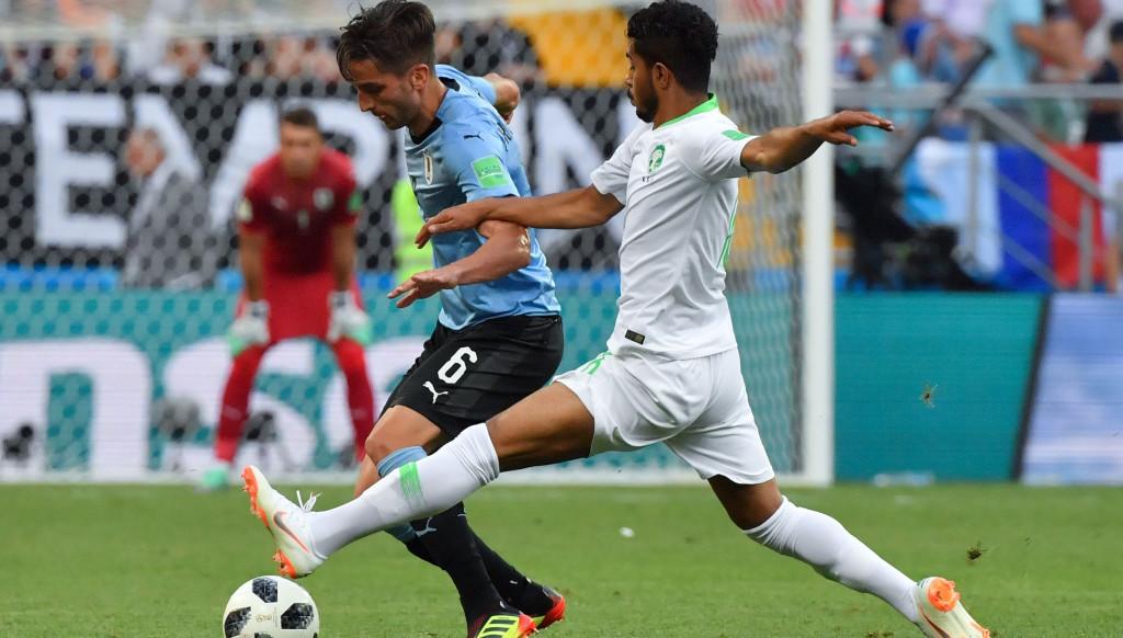 Rodrigo Bentancur made more passes for Uruguay than anyone else.