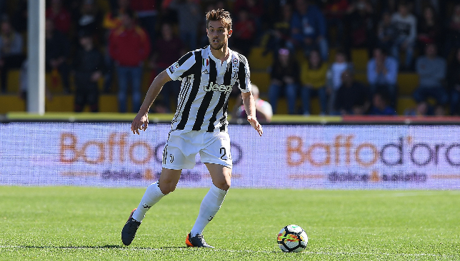At 6 ft 3 in, Rugani is a towering defender.