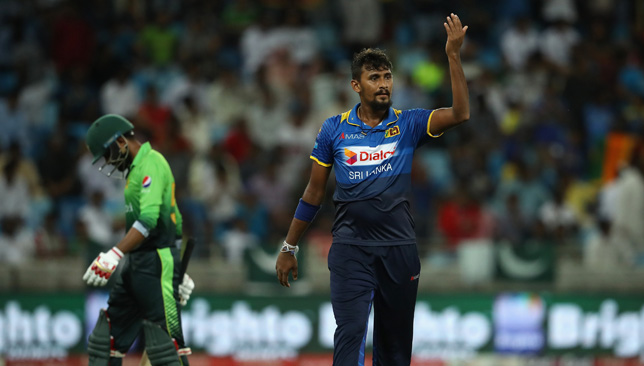 New captain: Suranga Lakmal