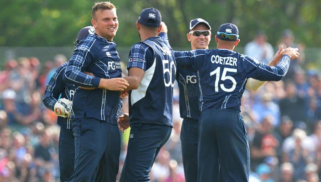 Scotland v England - ODI