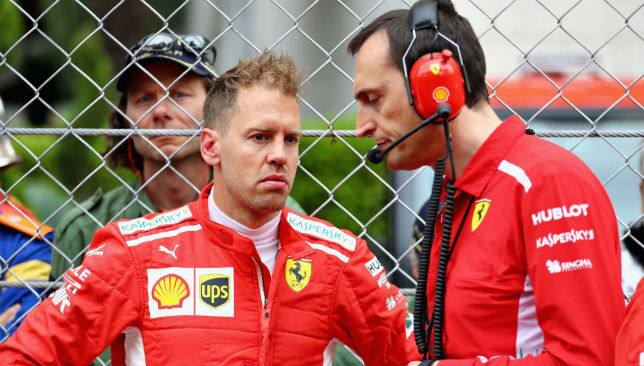 Sebastian Vettel started the season on fire but has endured a difficult time down the straight.