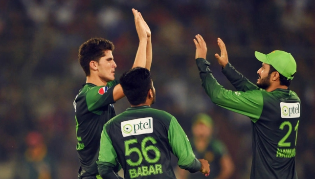 Shaheen (L) is delighted to be retained in the Pakistan T20I squad.