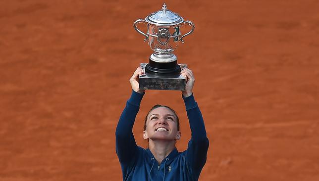 Champion: Simona Halep