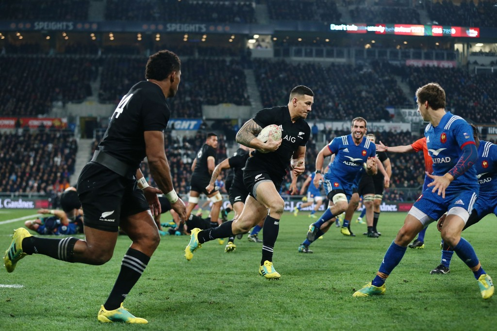 Sonny Bill Williams was back to his best against France