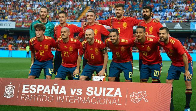 Spain team 1