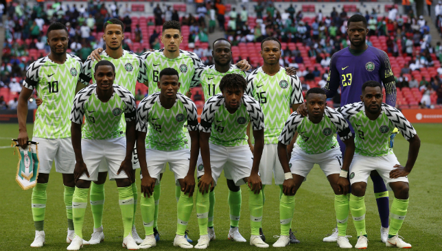 Nigeria World Cup kit is a sell-out with fans as players wear new strip  during England friendly 4652e00c6