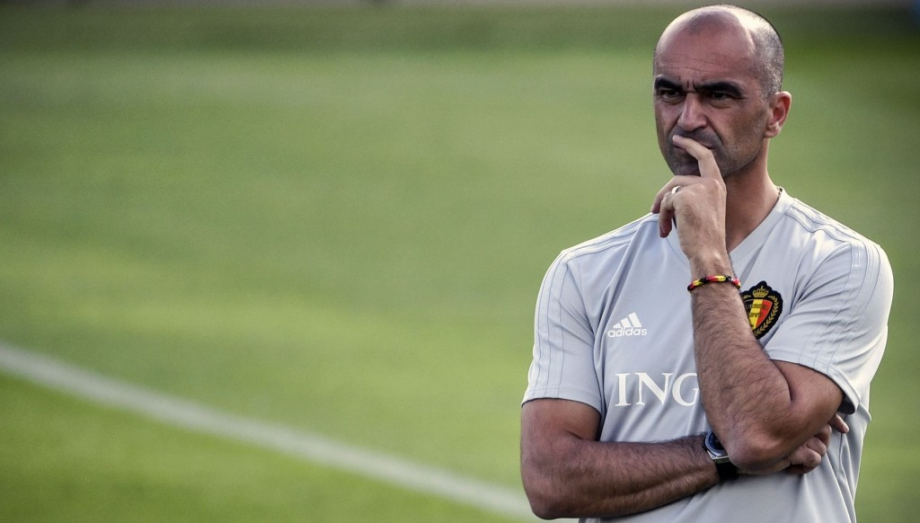 Belgium manager Roberto Martinez - to rest or not to rest
