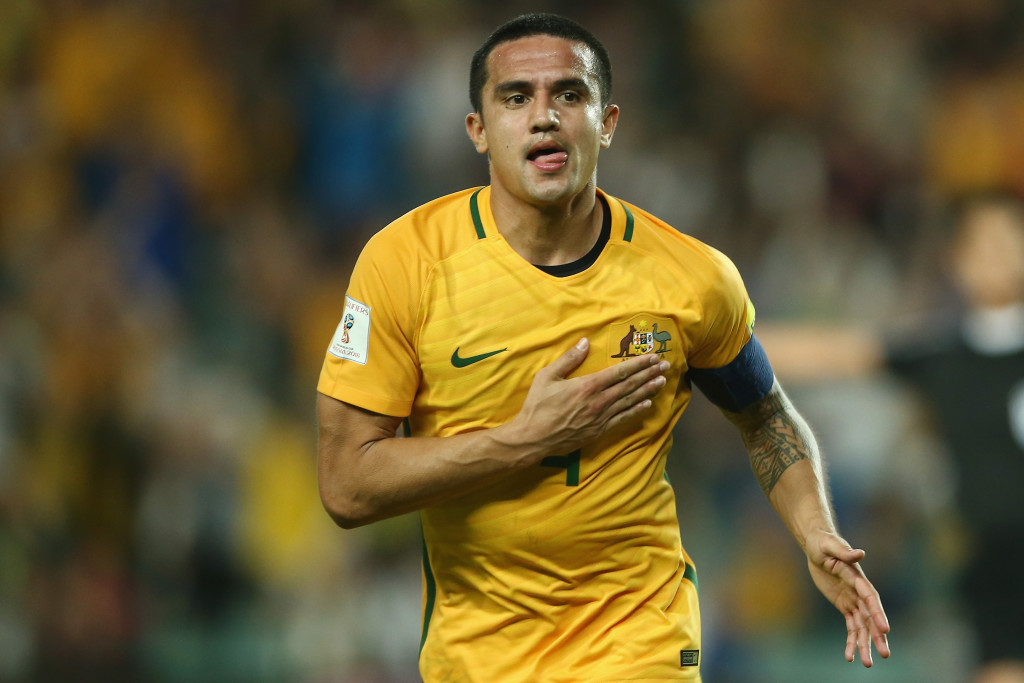 Striker Tim Cahill will be playing in his fourth World Cup.