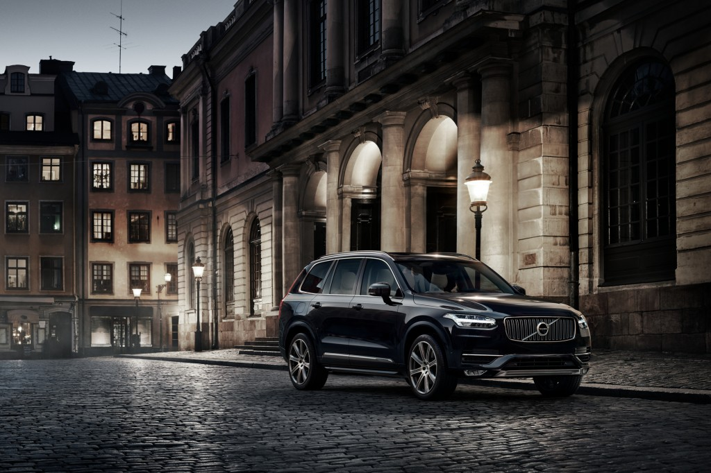 Up for grabs: Volvo XC90 is the prize