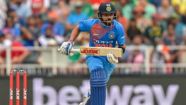 Kohli has recovered from his neck injury.