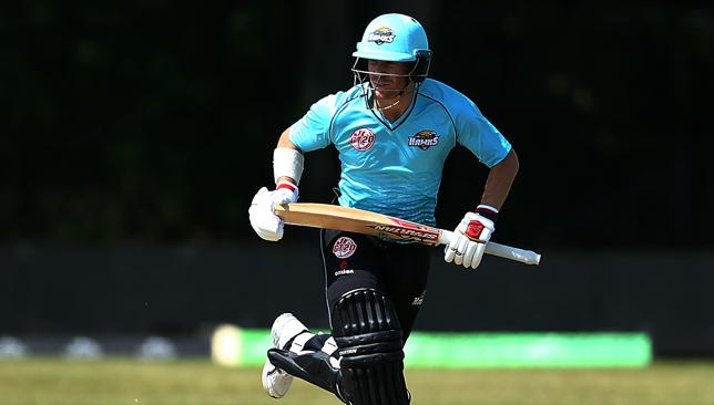 Back playing cricket: David Warner