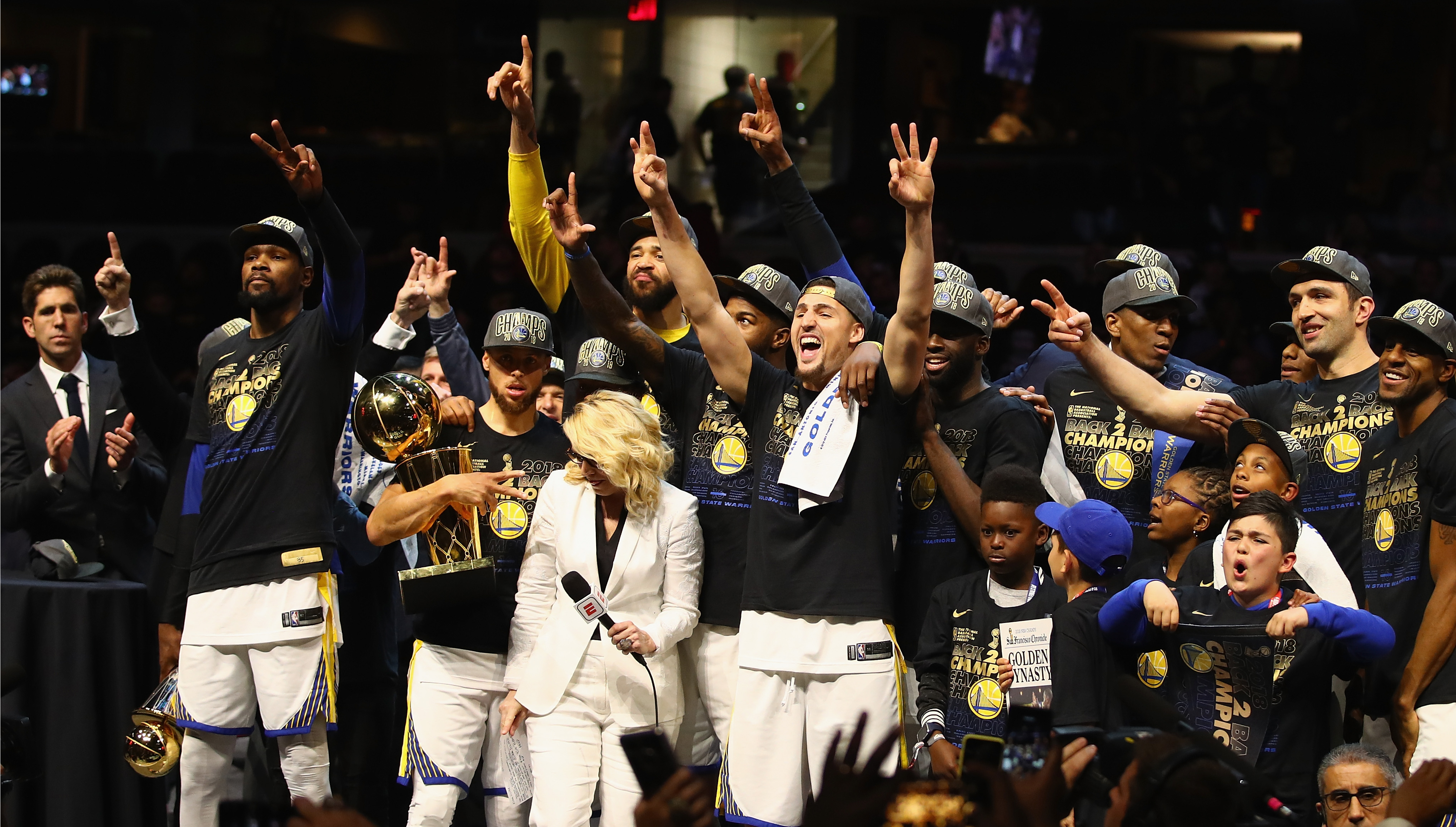 3a34395824c5 Golden State Warriors dominant as ever in clinching title with sweep of NBA  Finals