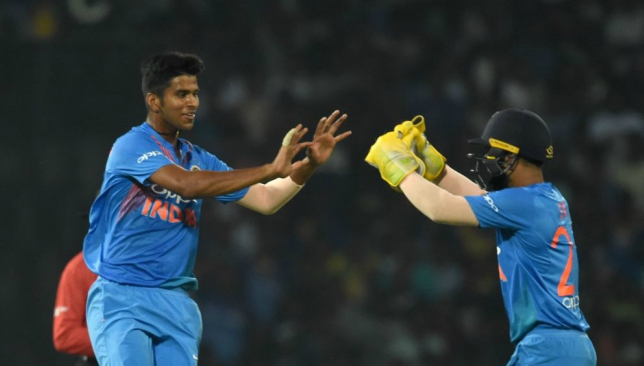 Sundar is unlikely to feature in the first T20I.