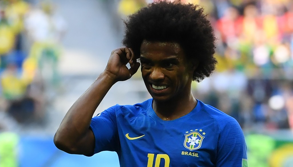 Woeful Willian was hauled off at half-time.