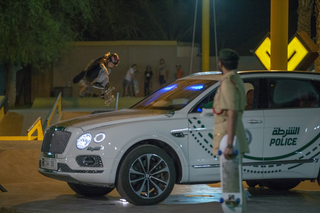 XDubai and DUbai Police to celebrate Go Skateboarding Day 21 June 18 LR