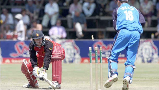 Andy Flower was part of a strong Zimbabwe team in 2001.