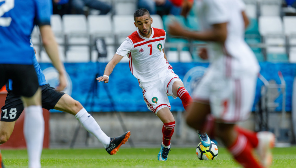 Ajax's Hakem Ziyech is part of a formidable Morocco attack.