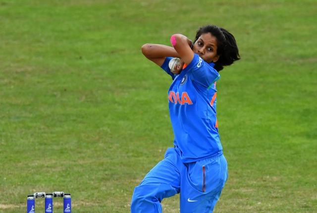 Poonam Yadav's four-wicket haul went in vain for India.
