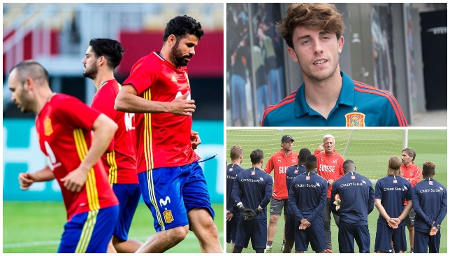 71f0b6fa5 Spain resume their World Cup preparations with a friendly against  Switzerland in Villarreal on Sunday night