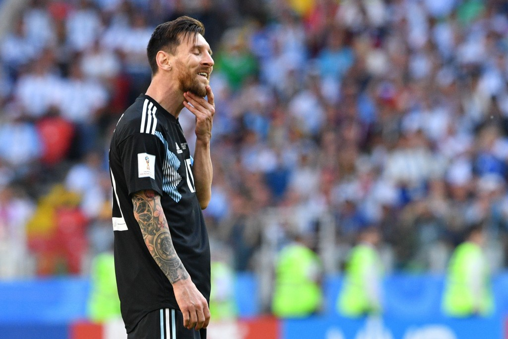 It wasn't a good World Cup for Messi.