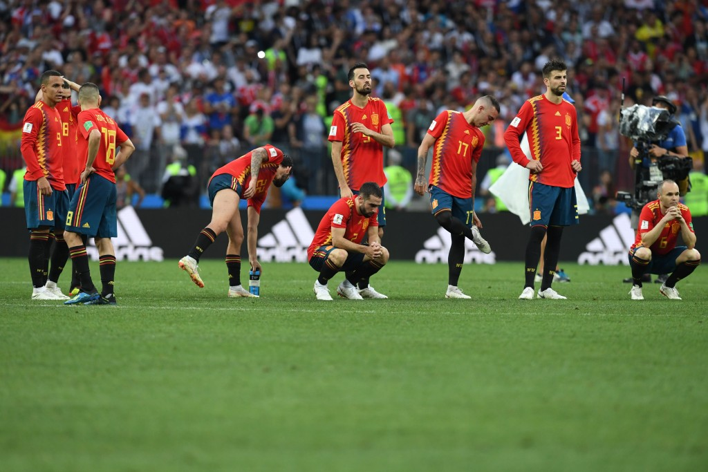 Spain suffered disappointment for a second straight World Cup.