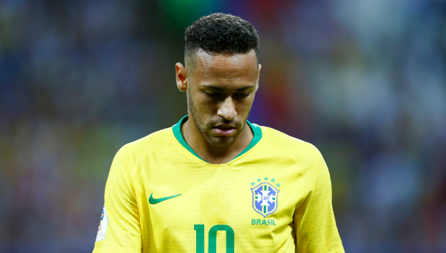 Neymar couldn't lift Brazil as they crashed out of the World Cup.
