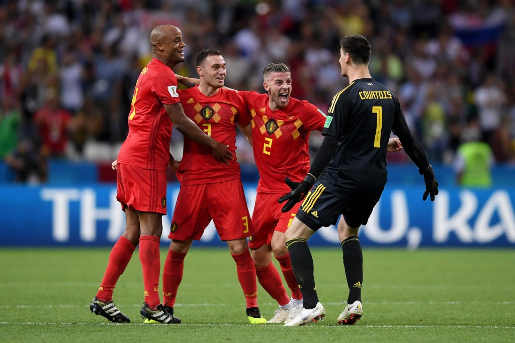 Belgium's veteran defence is finally making a mark on the international stage.