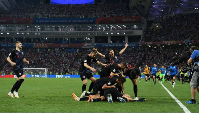 Croatia have reached the semi-finals after another nervy win.