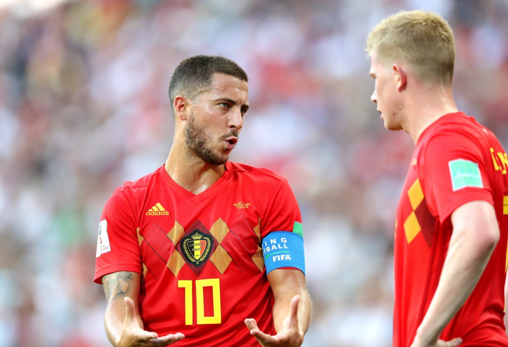 Hazard and De Bruyne have been the leading lights for Belgium.