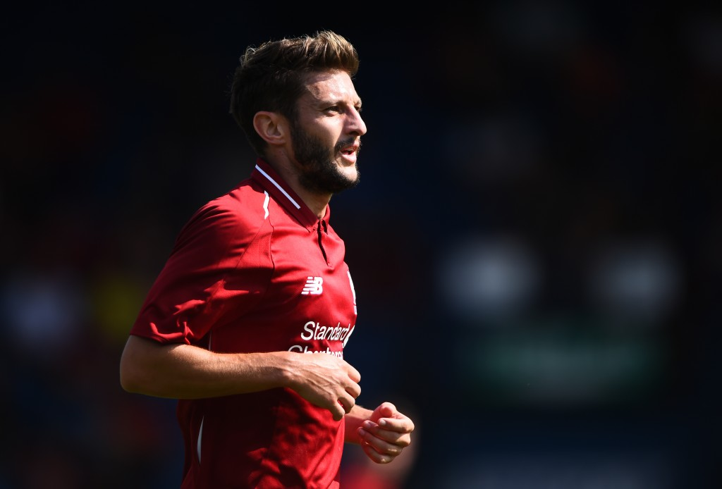 Lallana has had rough luck with injuries during his Liverpool career.