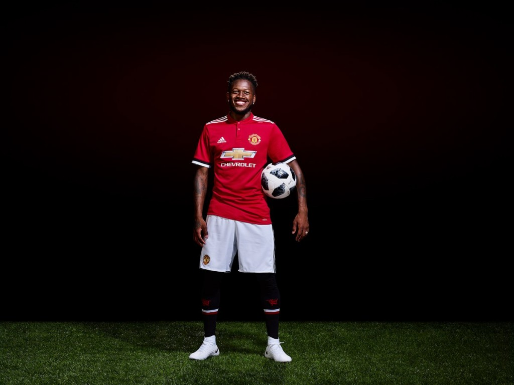 Fred has been brought in to strengthen United's midfield.