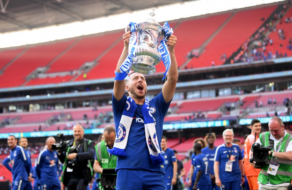 Winning the FA Cup could end up being Hazard's last act with Chelsea.