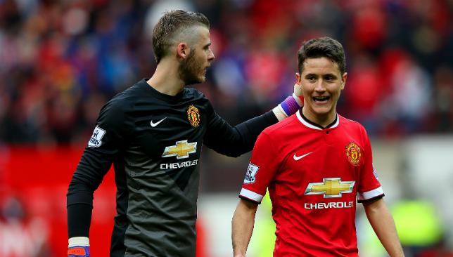 20c63b7eb32 Ander Herrera defends Manchester United teammate David de Gea after World  Cup criticism