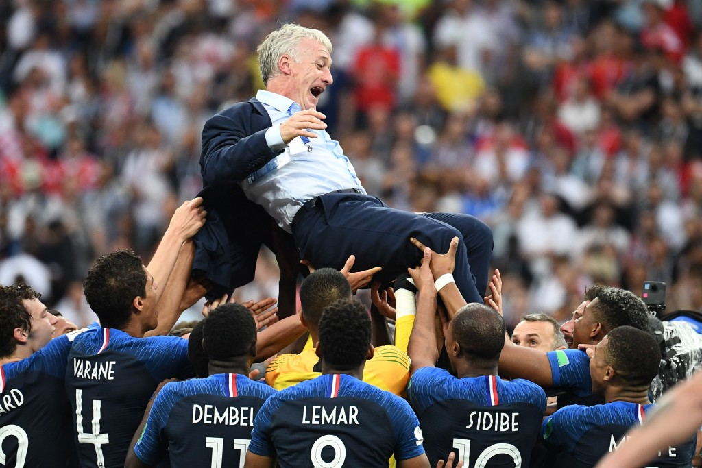 Deschamps has to be the favourite for the award.