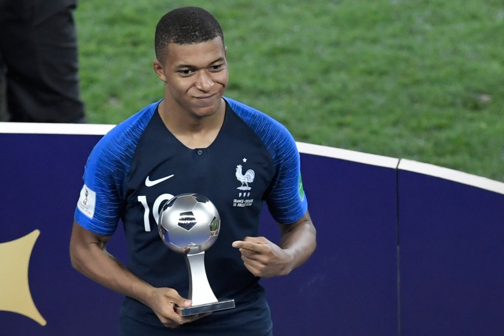 Mbappe: from World Cup's best young player to world's best player?