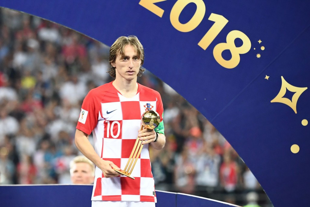 Modric could break the goalscoring stranglehold on best player awards.
