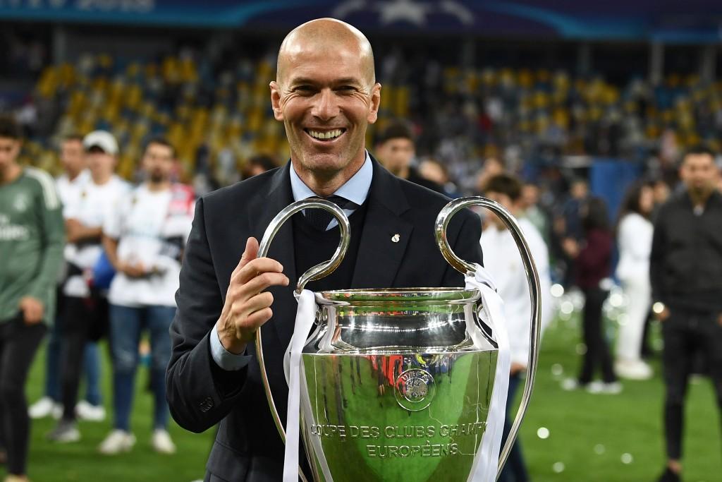 Zinedine Zidane made history for a second year running.