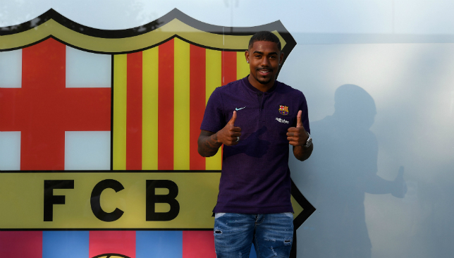 Malcom is set to wear the No7 shirt at Barcelona.