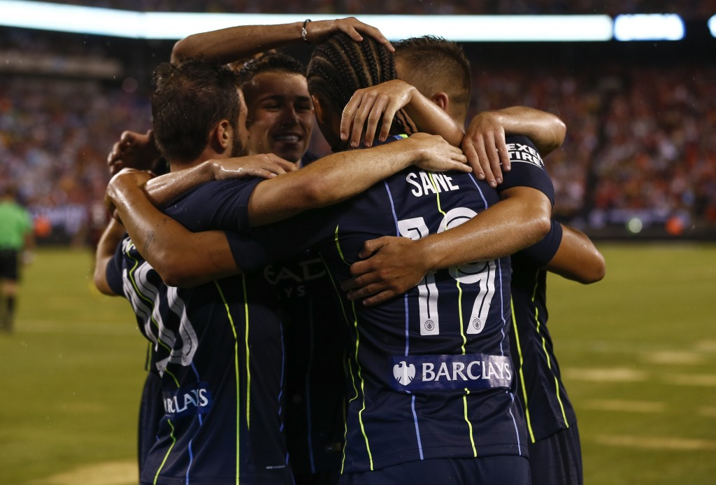 City have fielded an under-strength squad on their US tour.