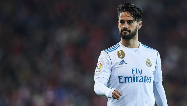 Real Madrid midfielder Isco.