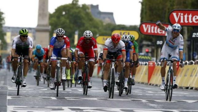 UAE Team Emirates  Alexander Kristoff wins final stage at Tour de France f72d5de74