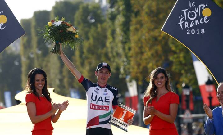 Dan Martin enjoyed an incredible Tour de France, including finishing eighth in the general classification standings.