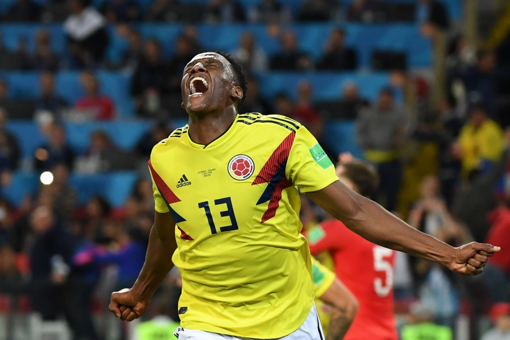 Mina's goalscoring threat made him Colombia's World Cup hero.