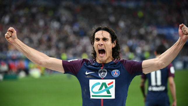 Edinson Cavani has been linked with a move to Real Madrid.